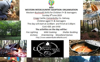 BUSHCRAFT SKILLS - SUNDAY 9TH JUNE 2019, CHILDREN AGED 7+, & TEENAGERS EVENT